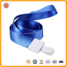 Wholesale custom nice design lanyard with plastic accessory