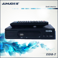 Good Quality ISDB-T Set Top Box for Japan Customize ISDB-T Tv Receiver for South America STB