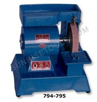 Glass edging & polishing machine, Pearl brand, direct motor drive 1/6 H.P.,1440 RPM 220/230 Volts with Emery stone, Watch Tools