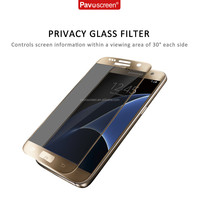Pavoscreen for Samsung Galaxy S7 Edge Screen Protector 0.3mm 9H 3D Curved Full Cover Tempered Glass Screen Protector