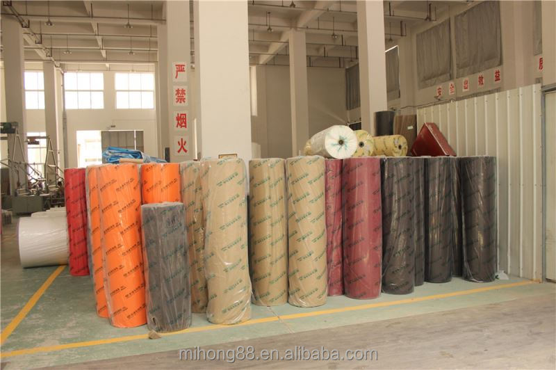 Top selling Different types non woven cloth fabric aluminium foil from manufacturer