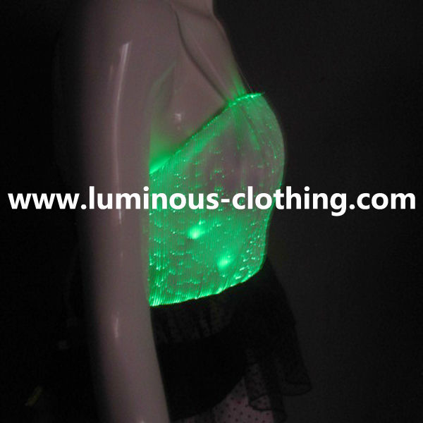 Magic Color LED Lights Adult Set For Woman To Do Corset / Blouse Cropped / Belly Dancing Wrap Top