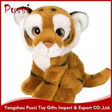 Animal toys soft baby doll plush stuffed tiger