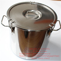 50L Dairy Milk Cans Stainless Steel Milk Bucket
