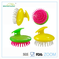 Factory direct sale silicone shampoo brush