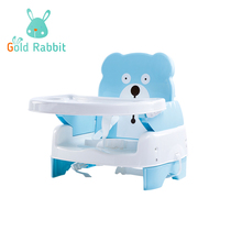 Blue color booster Seat Feeding High Chair for Child Dining Chair