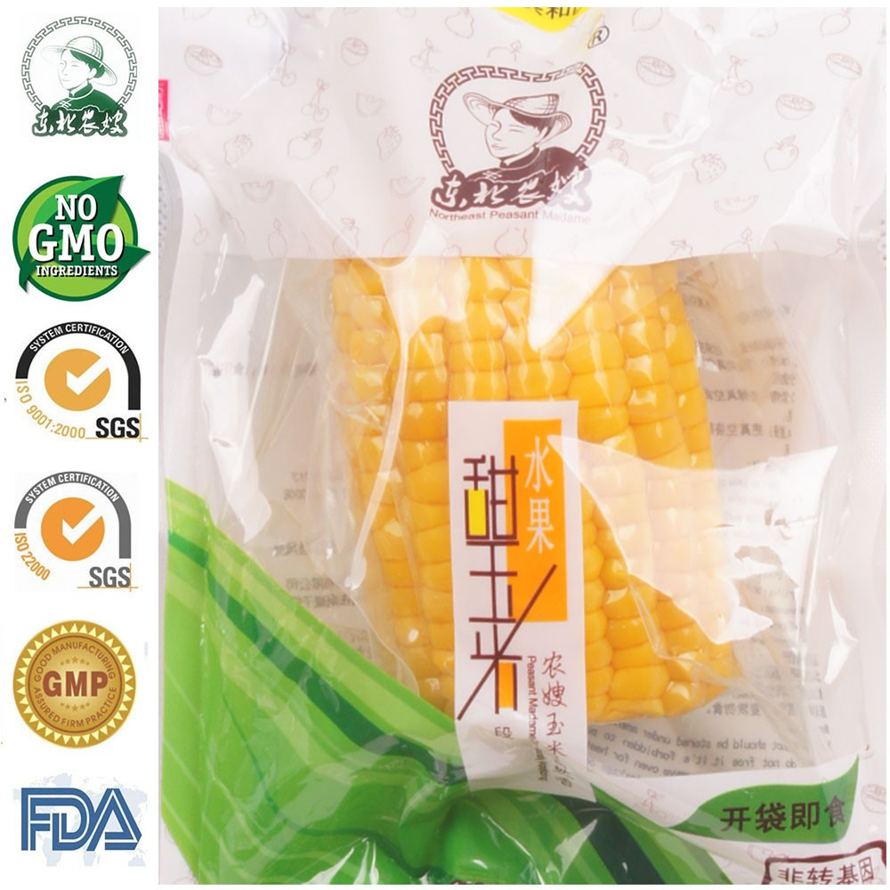 Factory Direct Vacuum Packed NON GMO Fresh Super Sweet <strong>Corn</strong> Cut