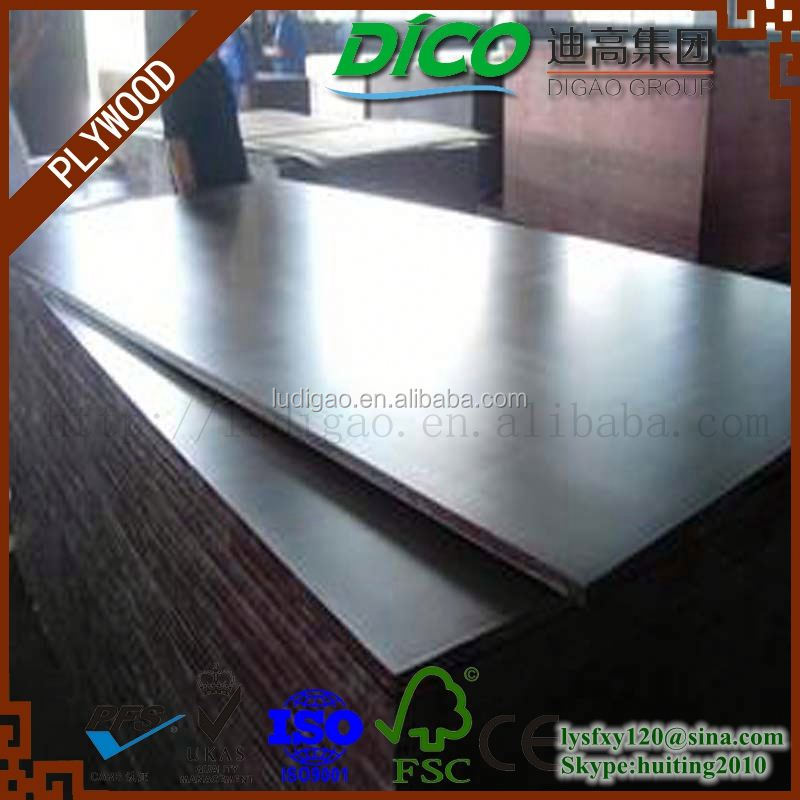 Construction Formwork Plywood Construction Waterproof Film Faced Plywood beech Film Melamine mdf