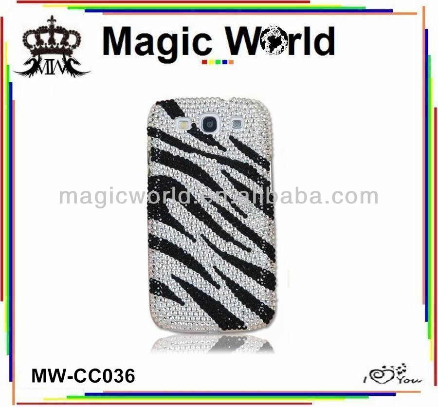 Jewelry Rhinestone For Samsung galaxy s3 Mobile Phone Cases