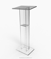 Acrylic Podium Plexiglass Pulpit School Church Lectern