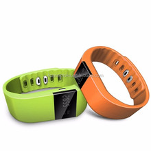 IP66 waterproof TW64 smart bracelet 0.49 inch screen Bluetooth 4.0 smart watch