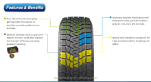 New E4 Winter tire LT 215/75/15 for cars, SUV for snow & ice