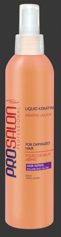 CHANTAL professional LIQUID KERATIN with VITAMIN COMPLEX leave-in spray CONDITIONER for DAMAGED HAIR 275ml