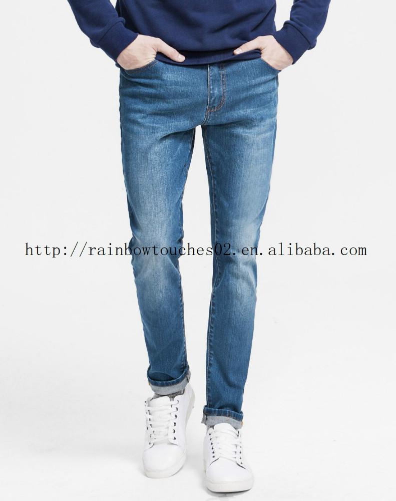 2016 New Model Jeans Pant China Wholesale Men Blue Stretch Denim Jeans - Buy Denim JeansMen ...