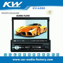 1 Din 7 inch indash car DVD player better than pioneer
