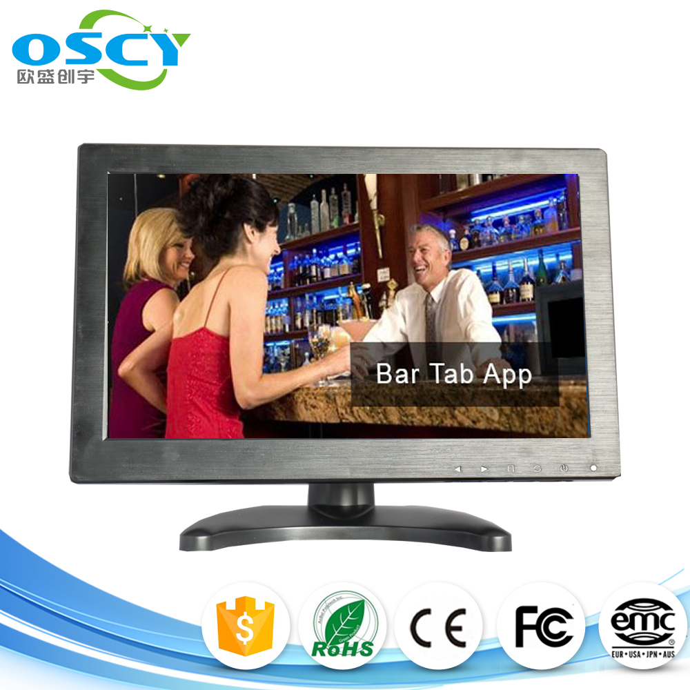 12 inch 1366*768 high resolution Widescreen HDMI Monitor