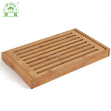 Chinese traditional bamboo tea serving tray set for wholesale