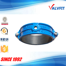 Ductile iron saddle clamp for DI pipe