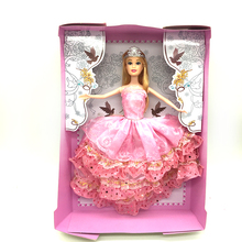 Wholesale Pink Silicone princess Doll For Baby