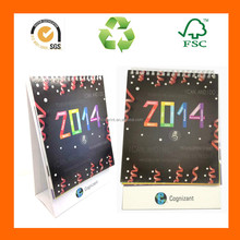 2016 Standing Desk Flip Calendars With Wire O Binding