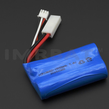 ICR18650 li-ion battery 7.4v 1500mah for rc airplane car boat and GPS