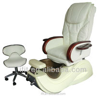 cream pedicure chair and tub manicure pedicure chair