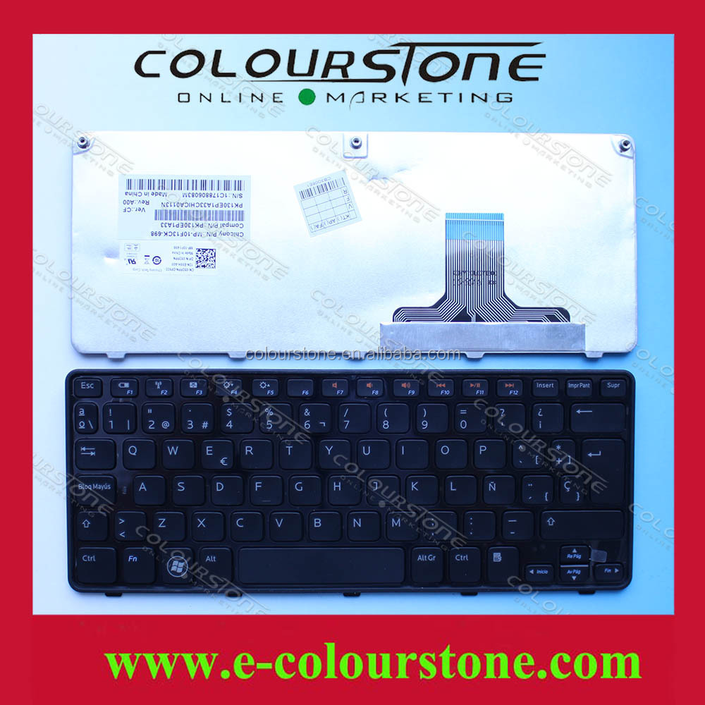 Brand new high quality Spanish keyboard for DELL 1090 laptop keyboard