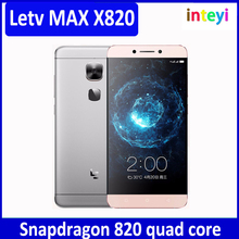 Original LeEco Letv Le Max 2 X820 6=4G+64G Mobile Phone Qualcomm Snapdragon 820 5.7 Inch 2K Screen Android 6.0 4G LTE Smartphone