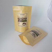 foil lined paper food packaging bag heat seal tea bag filter paper commercial food packaging equipment stand up pouch
