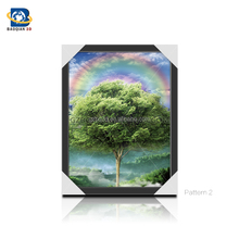 Four Seasons Framed 3D Lenticular Picture , 3D Painting ,Posters,3D flip picture