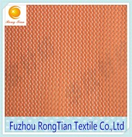 New design orange fine tiny nylon hexagonal mesh fabric for bubble skirt