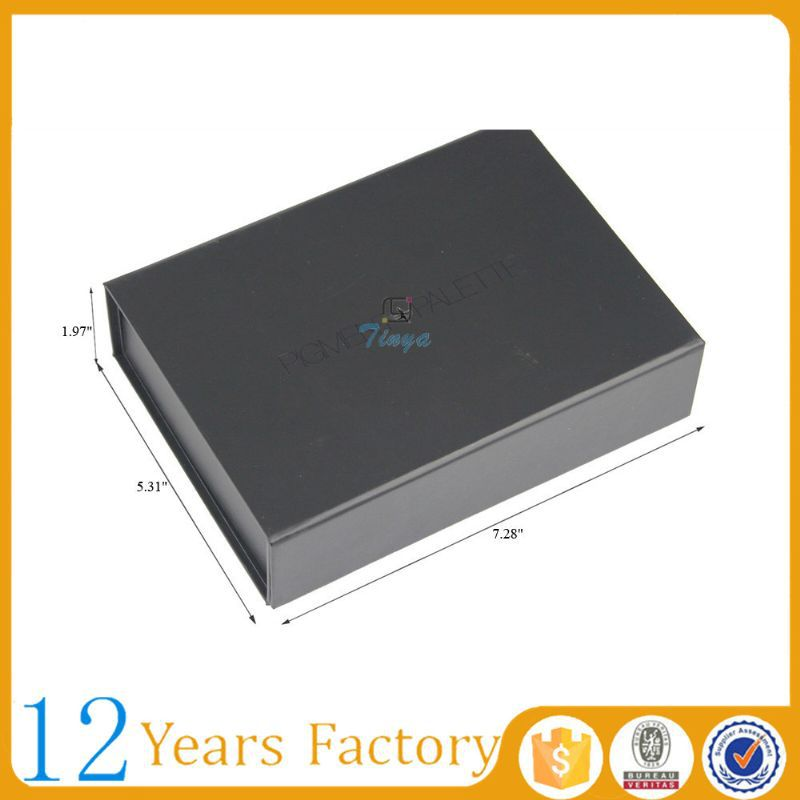 Black foldable cardboard storage box manufacturer