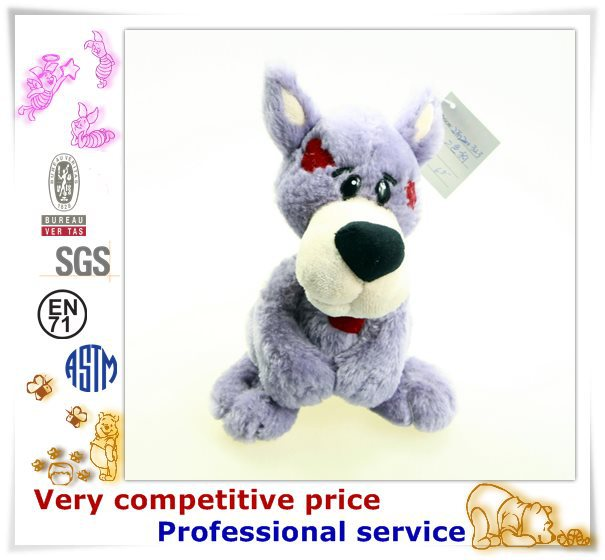 China custom factory stuffed dog animal plush toy plush dog bed