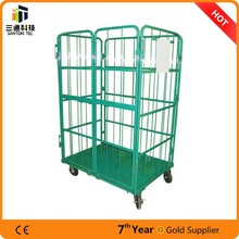 4 side foldable roll container