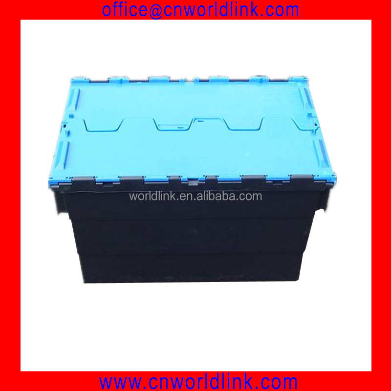 600x400mm New Moving 50kgs Plastic Crate for Produce