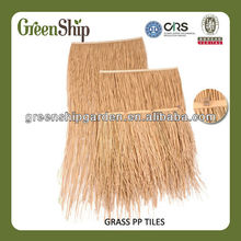 Easy to install Artificial Douli Thatch Roofing Tiles for Garden Decoration