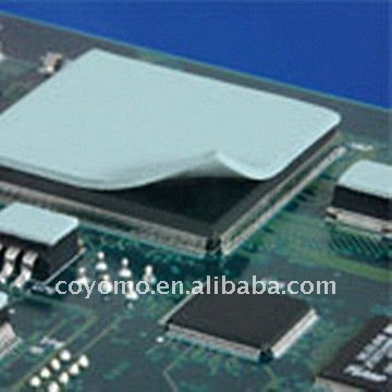 High viscosity thermal silicon gap filler type