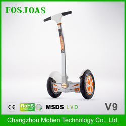 Fosjoas V9 Cheapest christmas gift scooter unicycle motorcycle for adults with removable 520wh Battery For Sale