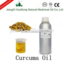 100%Pure and Natural Curcuma oil is the light yellow oil as the edible perfume with factory price