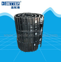 excavator and bulldozer undercarriage parts track shoe assy, track pad assy for all models
