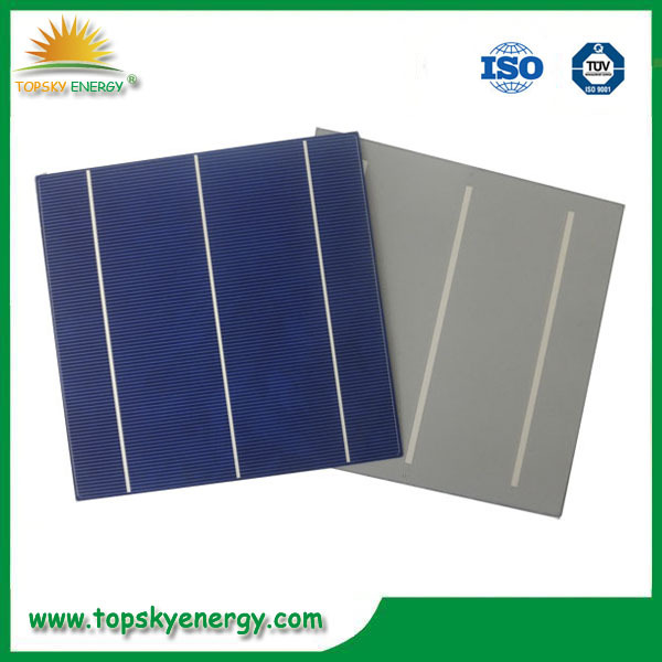 China Factory High Efficiency Cheap Polycrystalline Calculator Solar Cell