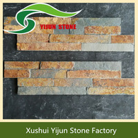 Top Quality Rustic Indoor Wall Building Material Split Face Z Brick Stone