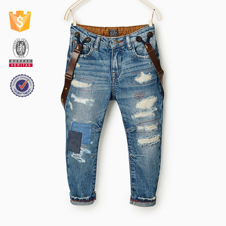 China manufacture bulk wholesale children's boot cut jeans
