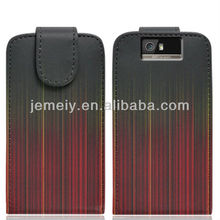 NO.22 new luxury pattern TPU leather case for motorola XT626