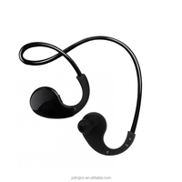 Sport waterproof Bluetooth headphones Bluetooth headphone with solid strong aluminum material.