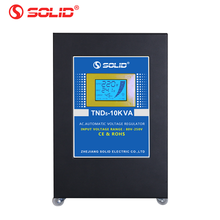 PLC Control Intelligent 80V~250V 10kva servo voltage stabilizer price