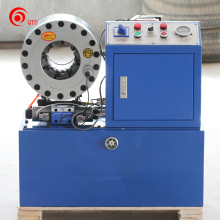 China pass SGS flexible metal hydraulic hose clamp crimping machine