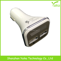 Promotional Output DC 5V 2.1A Double Speed Fast Charge Universal Portable Dual USB Car Charger