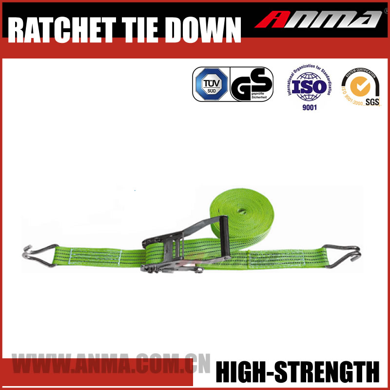 Motorcycle Ratchet Tie Down Straps with no hook