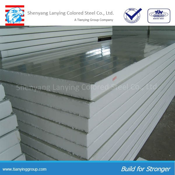 1 4 Eps Wall Panels : Interior exterior eps sandwich panel foam wall metal